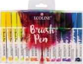 Ecoline Brush Pen set 30 kleuren brushpen penseelpen penseelstift