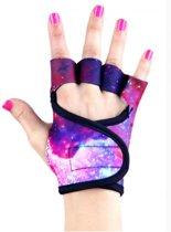 Galaxy - Fitness handschoenen  M