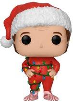 Pop Santa Clause Santa with Lights Vinyl Figure