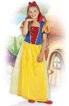 Kinderkostuum - Sneeuw Prinses Amber (4-6 jaar)