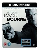 Jason Bourne 4K UHD + blu-ray (Import)