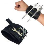 Magnetische armband | Spijker Houder Magneet | Sterk Zwart | Boor hulp | Boren & Hamer