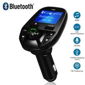 Bluetooth FM Transmitter, 170 ° Rotatie Auto Radio Adapter CarKit met 4 Music Play Modes 8 - 1