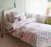 Room Seven Rosy Dekbedovertrek - Eenpersoons - 140x200/220 cm - Pink