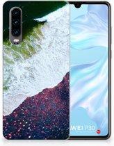 Huawei P30 TPU Hoesje Design Sea in Space