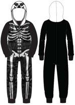 Fortnite Onesie - pyjama - Maat: 152 cm / 12 jaar
