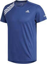 adidas Own The Run Tee Sportshirt Heren - Tech Indigo - Maat L