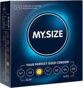 My.Size Condooms maat 53 - 3 stuks