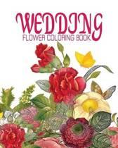 Wedding Flower Coloring Book