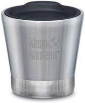 Klean Kanteen Tumbler Drinkfles Vacuum Insulated 237ml with Lid grijs