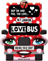 W7 Love Bus Make up Collectie