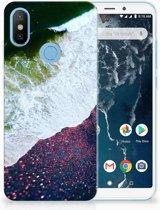 Xiaomi Mi A2 TPU Hoesje Design Sea in Space