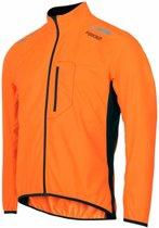 Fusion S1 Run Jack Heren Oranje Hardloopjas WaterafstotendSize : L