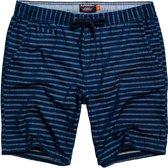 Superdry Sunscorched Short Sportbroek casual - Maat 32  - Mannen - blauw/grijs