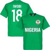 Nigeria Iwobi 18 Team T-Shirt - XL