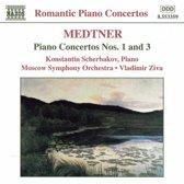 Romantic Piano Concertos Medtner Piano Concertos no 1 3