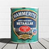 Hammerite Metaallak Zijdeglans Rood 0,25L