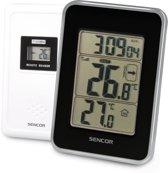 Sencor SWS 25 BS digitale weerstation Zwart, Zilver