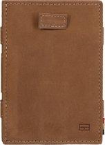 Garzini Magic Wallet Cavare met Card Sleeves RFID Leder Vintage Cognac
