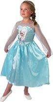 Disney Frozen Jurk Maat 110/116 - Prinses Elsa - Kinderkostuum