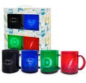 DC Universe: Set Of 4 Translucent Mugs