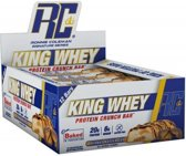 King Whey Protein Crunch Bar 12repen Peanut Butter