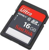 SanDisk Ultra SDHC kaart - 16GB