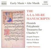 Alte Musik  A-LA-MI-RE Manuscripts / Capilla Flamenca
