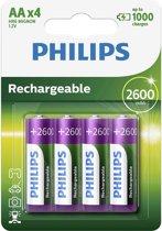 Philips AA Oplaadbare batterijen