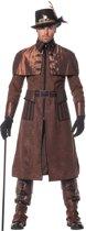 Steampunk Kostuum | Dark Steampunk Luxe Jas | Man | | Carnaval kostuum | Verkleedkleding