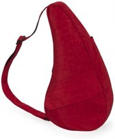 Healthy Back Bag Textured Nylon met iPad vak Crimson Red Medium 6304-CR