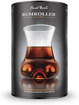 Final Touch - Rumroller Rum glas Staal Ice Ball en Tong Set