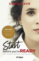 Boek cover Start before youre ready van Simone Levie (Paperback)