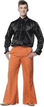 Broek Flairpijp Uni Oranje voor heer