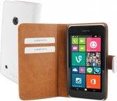 Mobiparts Premium Wallet Case Nokia Lumia 530 White