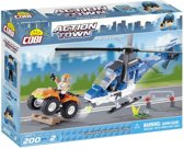 Cobi - Action Town 1563 - Politie Helicopter