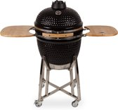 "Patton Kamado Grill Houtskoolbarbecue - 21"" - incl. Bluetooth control - Zwart"