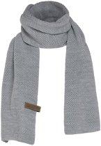 Knit Factory - Knit Factory Jazz Sjaal Licht Grijs Maat: one size