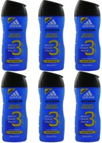 Adidas Body & Hair Shampoo Energy Sport - 6 Pack