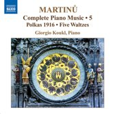 Martinu: Piano Music 5