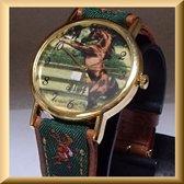 Uniek horloge met paard