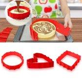 Veex Bake Snake - silicone bakvorm - Magic bake snake - flexibele bakvorm