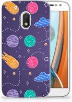 Motorola Moto G4 Play Uniek TPU Hoesje Space