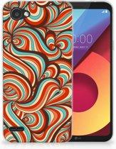 LG Q6   LG Q6 Plus TPU Hoesje Design Retro