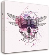 Schilderij - Skull