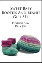 Sweet Baby Booties and Beanie Gift Set