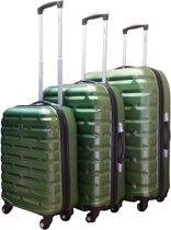 Benzi - kofferset - 3 delig - Bricks - Olive