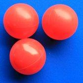 Ballenbakballen 70mm Rood - 1000 stuks