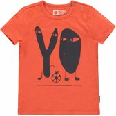 Tumble 'n dry Jongens T-shirt Amon - Nasturtium - Maat 80