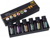 Seidon 6 Essentiële Olie - Aromatherapie - Cadeau Set - 100% Puur Biologisch en Geschikt voor Aroma Diffuser- Essentiële Olie Set - Etherische Oliën - Biologisch - Essentiële Oliën - Etherische Oliën Set - Voordelig - #1 Werelds Beste Geuren